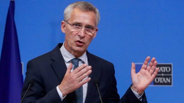 Stoltenberg: Russland sollte sich mit uns an einen Tisch setzen