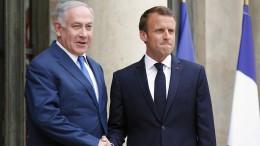Macron kritisiert Botschaftsverlegung nach Jerusalem scharf