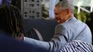 Obama besucht seine Familie in Kenia