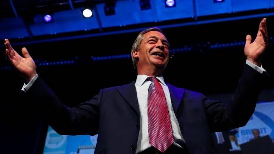Nigel Farage ist zurück