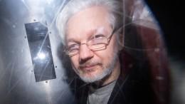 Assange darf nicht nach Amerika ausgeliefert werden