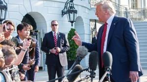 Streit zwischen Trump und Biden verschärft sich
