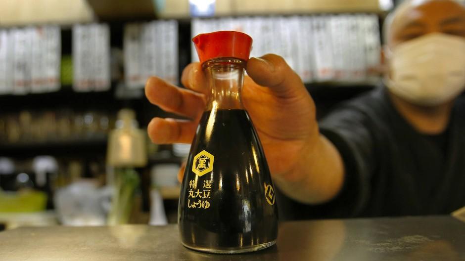Nicht nur in Japan bekannt: die Sojasoße von Kikkoman