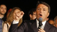 Renzi arbeitet in Italien am Comeback