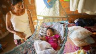 Lückenhafte medizinische Versorgung: Die Familie der acht Monate alten Zaida ist auf Hilfe angewiesen.