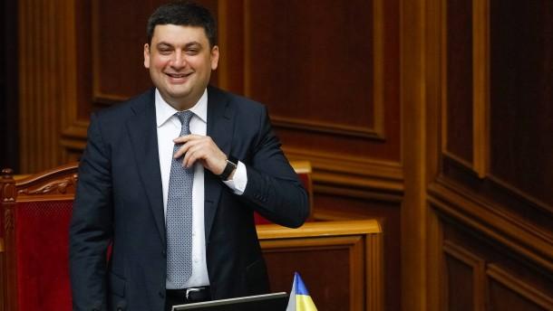Hrojsman zum neuen Regierungschef gewählt