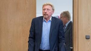 15 Gläubiger wollen Geld von Boris Becker