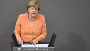 """Merkel gegen """"Einigung um jeden Preis"""""""