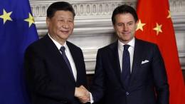 Italien tritt Handelsprojekt mit China bei
