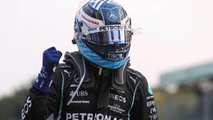 Bottas startet vor Hamilton von Platz eins im Sprint