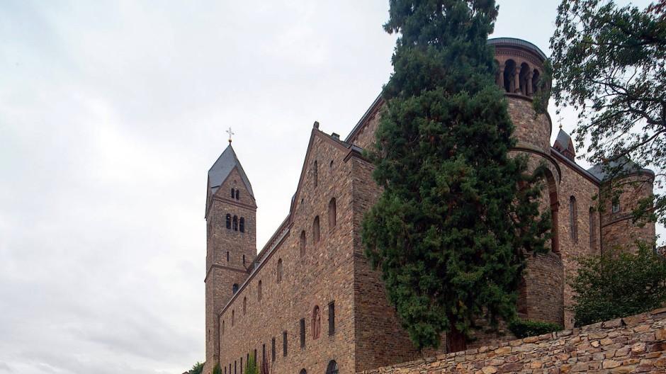 Kein altes Gemäuer: Die Abtei St. Hildegard wurde von 1900 bis 1904 errichtet.