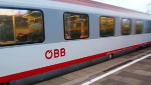 Bahnverkehr in Österreich steht still