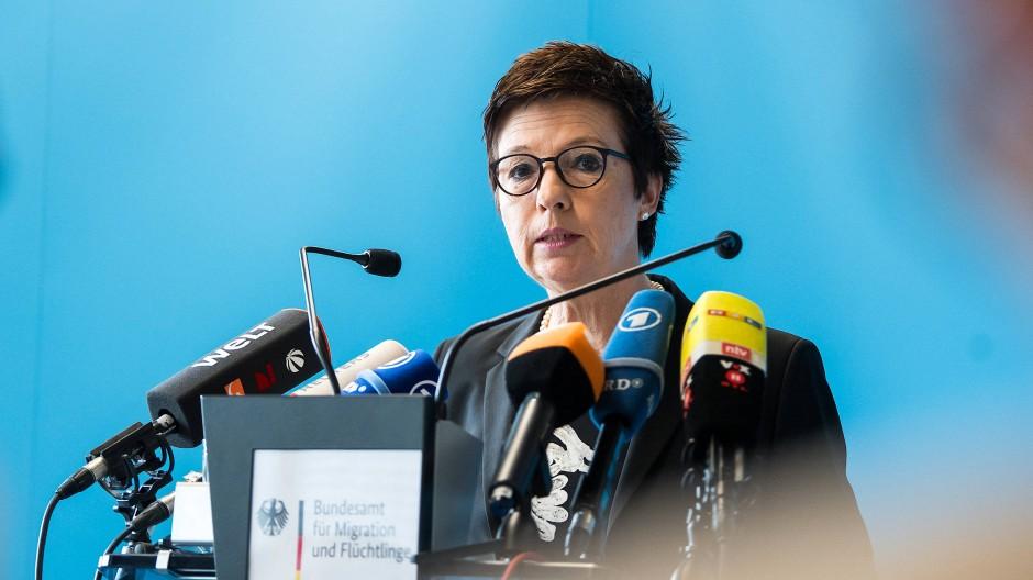 Jutta Cordt, Präsidentin des Bundesamts für Migration und Flüchtlinge (Bamf)