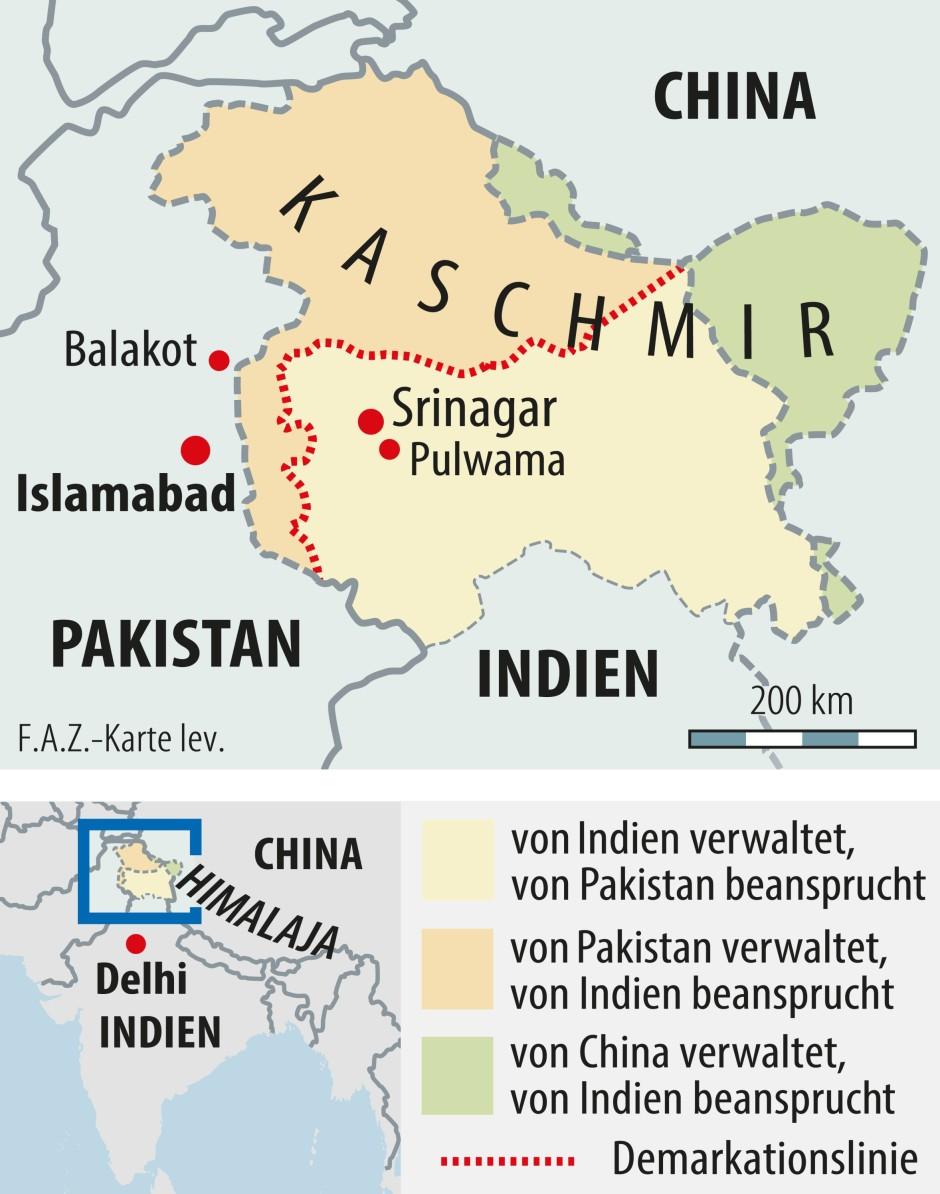 Kaschmir indien