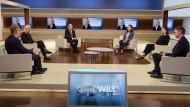 """Bei """"Anne Will"""" diskutierten die Studiogäste über eine hochspannende Frage: Wie sollen die milliardenschweren Finanzspritzen investiert werden?"""