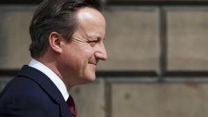 Cameron verspricht medizinische Versorgung rund um die Uhr
