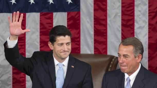 """Paul Ryan wird """"Sprecher"""" des Repräsentantenhauses"""
