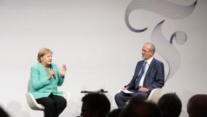 Angela Merkel im Interview