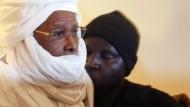 Hissène Habré im Gericht in Dakar (im Juli 2015)