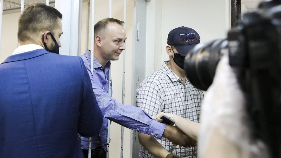Russischer Geheimdienst verhaftet früheren Journalisten