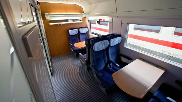 Bahn plant Rückkehr zu Abteilen
