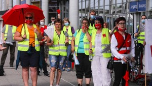 Warnstreiks im NRW-Einzelhandel diesen Donnerstag