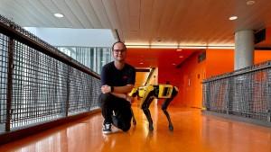 Trainer der Mars-Hunde