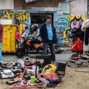 Am 1. März feierten diese Menschen in Kolumbien den Welt-Recycling-Tag.