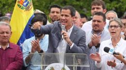 Guaidó sucht Kontakt zum amerikanischen Militär
