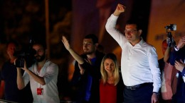 Oppositionskandidat Ekrem Imamoglu siegt