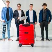 Die Erfinder des smarten Koffers