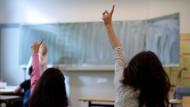 Flüchtlingsmädchen in einer niedersächsischen Sprachklasse