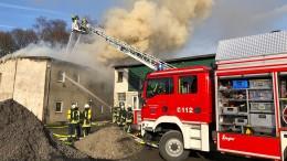 Drei Tote bei Brand in Arnsberg