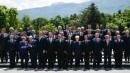 Die europäischen Staats- und Regierungschefs bei einem Treffen Mitte Mai in Sofia.