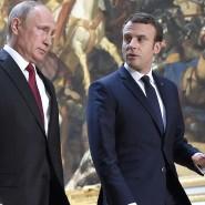 """""""Rote Linie"""" in der Tradition Obamas: Macron am Montag mit Putin in Versailles"""