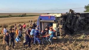 Mehrere Tote und Verletzte bei Zugunglück in der Türkei