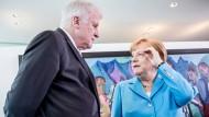 Krisengipfel zwischen Merkel und Seehofer