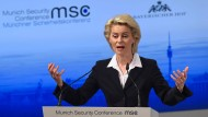 Ursula von der Leyen bei ihrer Eröffnungsrede der Sicherheitskonferenz in München