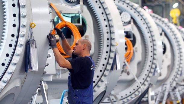 """Maschinen """"Made in Germany"""" weniger gefragt"""