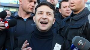 Schlagabtausch in der Ukraine