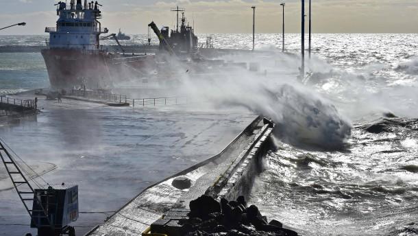 Explosion im Meer am Tag des Verschwindens des U-Boots