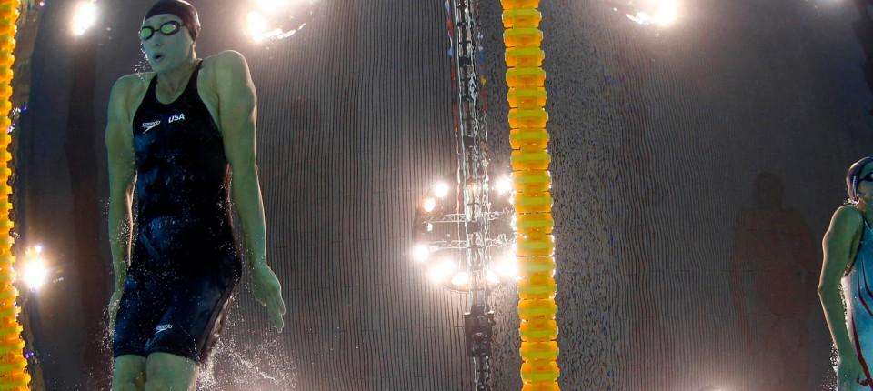 Olympia Regelecke Das Wasser Glatt Und Schnell Olympia Faz
