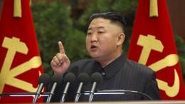 Debatten um Gesundheit von Kim Jong-un