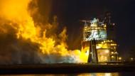 Nasa testet Antrieb für größte Rakete der Welt