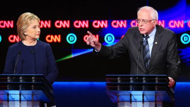 Sanders beschert Clinton weitere Niederlage