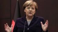 Merkel entsetzt über russische Bombenangriffe in Syrien