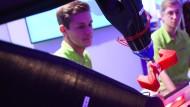 Made in Darmstadt: Wie handgreiflich Digitalisierung sein kann, wurde jüngst auf der Expo bei Merck vorgeführt.