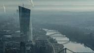 Beinahe ungebaut: 2008 gab es Überlegungen in der EZB, auf das weitgehend fertiggeplante Projekt im Ostend zu verzichten.