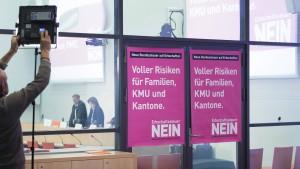 Schweizer schmettern neue Erbschaftsteuer ab