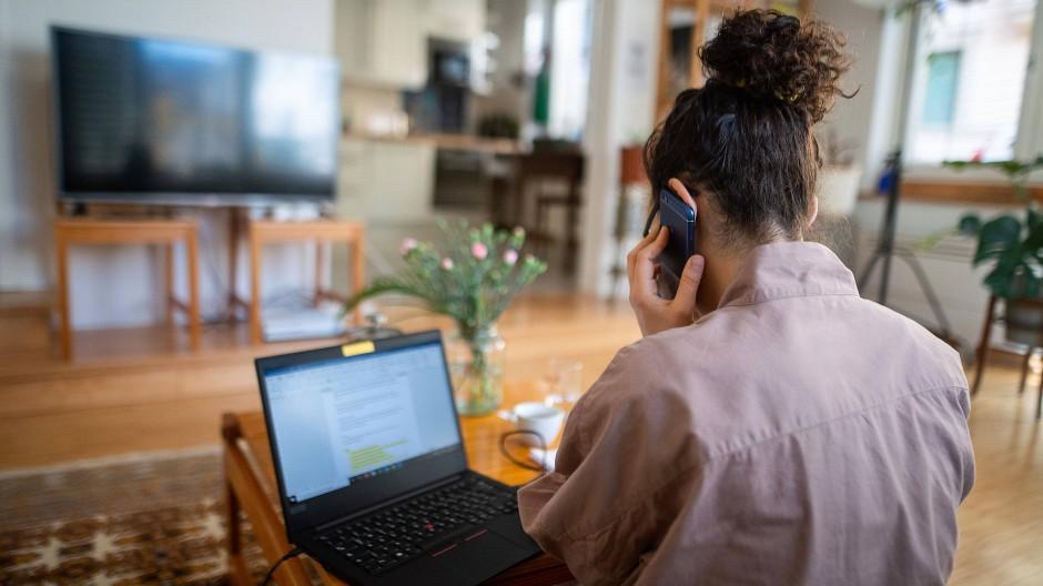 Das Büro zu Hause: Viele Arbeitnehmer haben in den vergangenen Monaten in den eigenen vier Wänden gearbeitet.